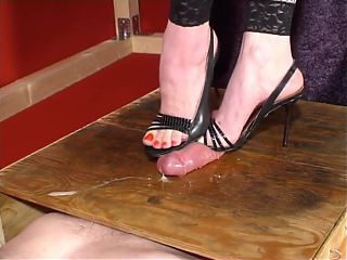 High Heels, Cock Box, Crushing and Teasing