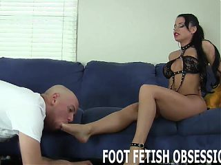 Let me put my feet in your face