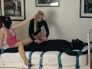 His torture session begins