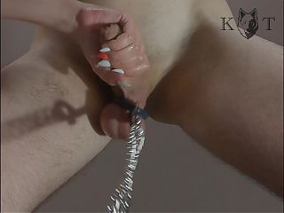 Spanking And Milking His Cock – POV (KWolfT, Massive Cumshot)