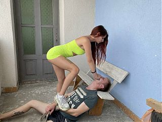Home Smother and Ass Smothering Femdom Outdoor by Sofi