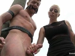 Mistress uses the slave whenever and wherever she wants