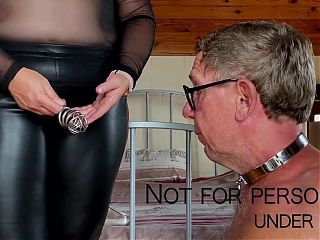 Dominatrix Mistress April - Piece of shit treatment