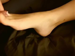 Toe urethral penetration with my wife #preview#