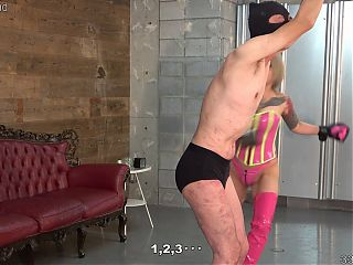 Learning the smell and weight of mistress and fight training