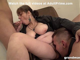 3x Grannies Getting Some at AdultPrime